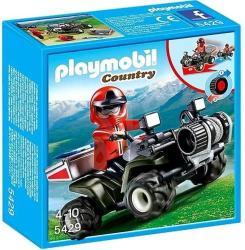Playmobil Hegyimentők quaddal (5429)
