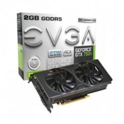 EVGA GeForce GTX 750 Ti ACX FTW 2GB GDDR5 128bit PCIe (02G-P4-3757-KR)