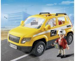 Playmobil Építkezés felügyelő autó (5470)
