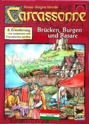 Hans im Glück Carcassonne 8. kiegészítő - Várak, hidak, vásárok