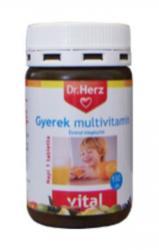 Dr. Herz Gyerek Multivitamin - 130db