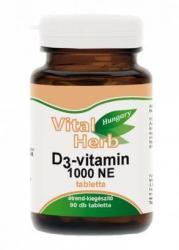 Vital Herb D3-Vitamin - 90db