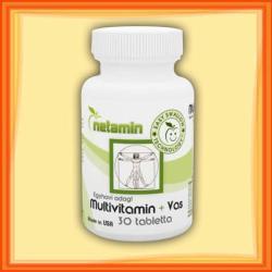 Netamin Multivitamin+ Vas - 30db