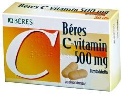 BÉRES C-vitamin 500mg tabletta - 30db