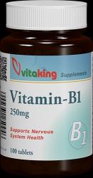 Vitaking B1-Vitamin 250mg - 100db