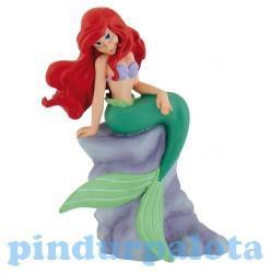 Bullyland Ariel ülő figura