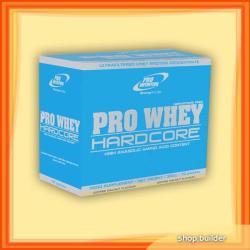 Pro Nutrition Pro Whey Hardcore - 10x30g