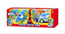 WOW Toys Combo Pack - Rendőrség