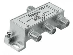 Hama 3-way SAT Splitter 44124