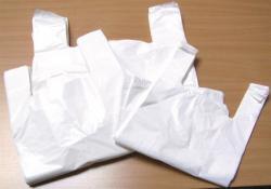 Ingvállas tasak fehér 28x8x50 cm