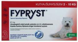 FYPRYST Spot On S 2-10kg-os Kutyáknak 0.67ml (10db)