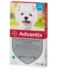BAYER Advantix Spot On 4-10kg 1ml (4db)