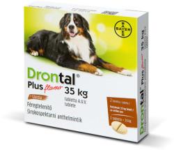 Drontal Dog Plus 35 Féreghajtó Tabletta Nagytestű Kutyának 2db