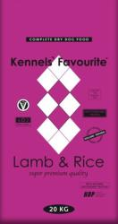 Kennels' Favourite Lamb & Rice 20kg