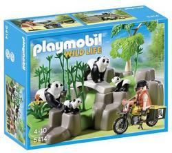 Playmobil Pandacsalád a bambuszligetben (5414)