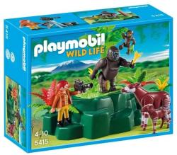 Playmobil Zoológus gorillákkal és okapikkal (5415)