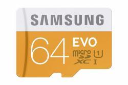 Samsung microSDXC EVO 64GB UHS-I Class 10 MB-MP64DA/EU