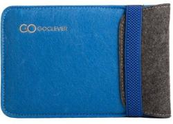 "GOCLEVER ""Eco Sleeve 7"""" - Blue (MIDBAGSLE7BLU)"""