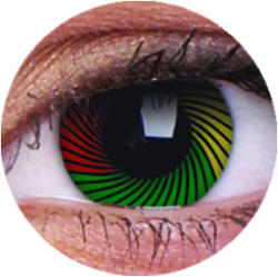 Colourvue Crazy Rasta (2db) - 3 havi