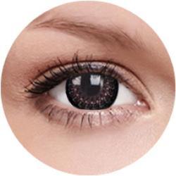 MaxVue Vision ColourVue Eyelush Csokoládébarna (2db) - 3 havi