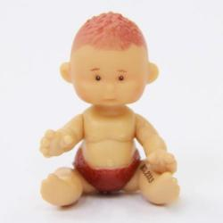 Brix'nClix Yogurtinis mini joghurt baba - Kókusz Karcsi - 8 cm