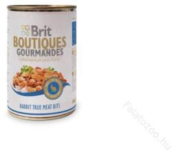 Brit Boutiques Gourmandes Rabbit True Meat Bits 400g