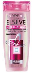 L'Oréal Elséve Nutrigloss Crystal sampon normál vagy vékonyszálú fénytelen hajra 400ml
