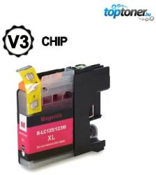 Compatibil Brother LC125XL-M Magenta
