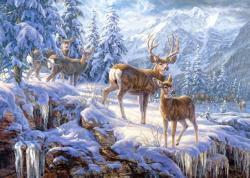 Castorland Szarvasok a téli tájban 1000 db-os (102501)