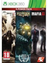 2K Games Power Pack: The Darkness II + Bioshock 2 + Mafia II (Xbox 360)