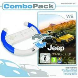 Funbox Media Jeep Thrills [Wheel Combo Pack] (Wii)