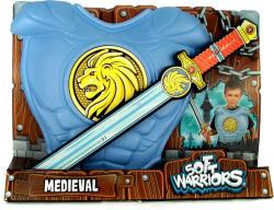 Soft Warriors Középkori kard és mellvért készlet