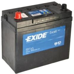 Exide Excell EB455 45Ah 300A bal+ (EB455)