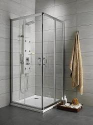 Radaway Premium Plus D 100x80x190 cm szögletes (30434-01)
