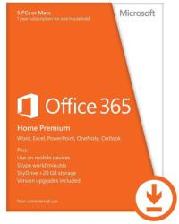Microsoft Office 365 Home Premium BGR (1 Year) 6GQ-00138