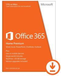 Microsoft Office 365 Home Premium BGR (1 Year) 6GQ-00138