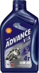 Shell Advance VSX 4T 15w-50 1L