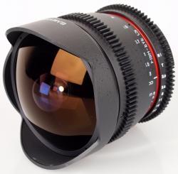Samyang 8mm T3.8 CSII HD VDSLR (Canon)