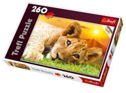 Trefl Fekvő oroszlánkölyök 260 db-os (13163)