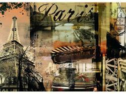 Ravensburger Nosztalgikus Párizs 1000 db-os (15729)