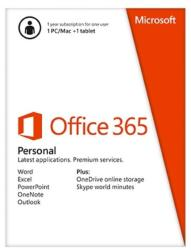 Microsoft Office 365 Personal 32/64bit ROU (1 User, 1 Year) QQ2-00077
