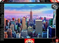 Educa HDR Puzzle - Manhattan, New York 1000 db-os (14811)