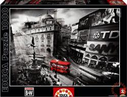 Educa Black & White - Piccadilly Circus 1000 db-os (15981)
