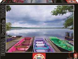 Educa Színes csónakok a tónál 1000 db-os (15984)