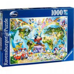 Ravensburger Disney világtérkép 1000 db-os (15785)