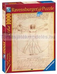Ravensburger Leonardo Da Vinci Vitruvius-tanulmány 1000 db-os (15250)