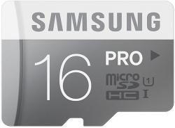 Samsung microSDHC Pro 16GB Class 10 MB-MG16DA/EU
