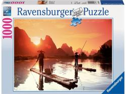 Ravensburger Halászat a naplementében 1000 db-os (19085)