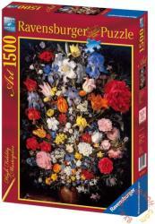 Ravensburger Brueghel: Váza virágokkal 1500 db-os (16242)