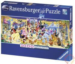 Ravensburger Panoráma Puzzle Disney csoportkép 1000 db-os (15109)